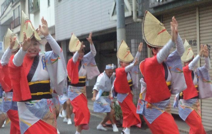 Photo de danseuses japonaises