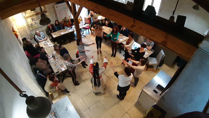 Photo d'un évènement au sein de l'association